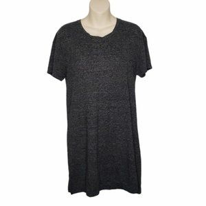 URBAN OUTFITTERS BDG grey t-shirt dress small